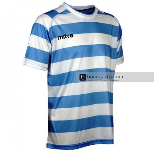 Игровая футболка Mitre Malagha_Юниор синий / белый размер SB