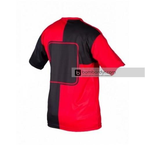Игровая футболка_MITRE_Cadiz_Взрослые_красный / черный_ S