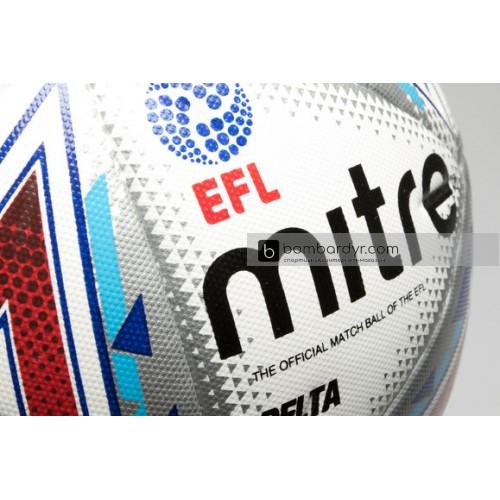 Мяч футбольный MITRE DELTA HYPERSEAM FIFA QUALITY PRO EFL BB1979WHU