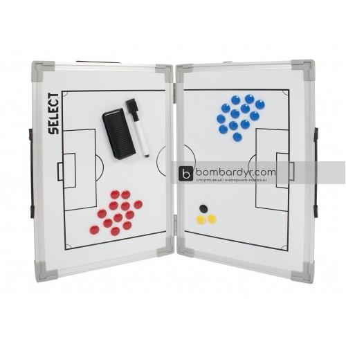 Раскладная тактическая доска SELECT Tactics board foldable - football