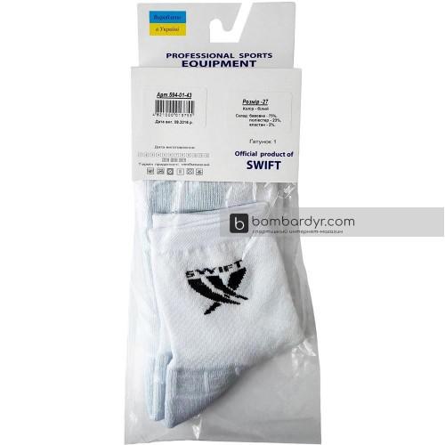 Носки спортивные средние Swift Socks (белые)