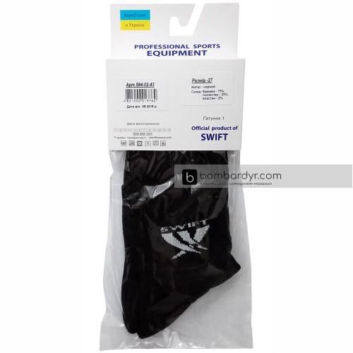 Носки спортивные средние Swift Socks (черные)