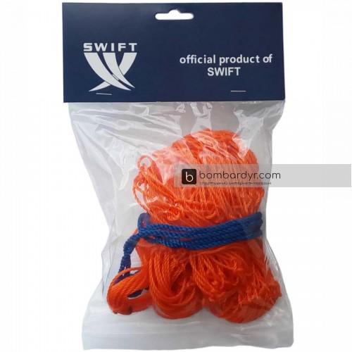 Сетка для мячей SWIFT BALL NET, оранжевый (10-12 мячей)