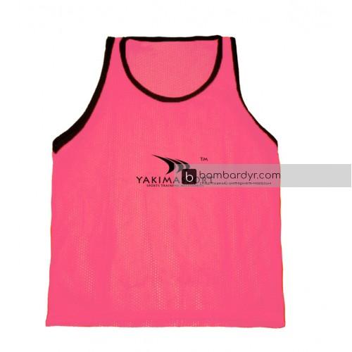 Манишки футбольные Yakimasport розовые 100263