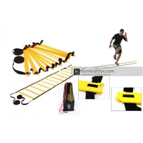 Координационная лестница для тренировки скорости 3м C-4893