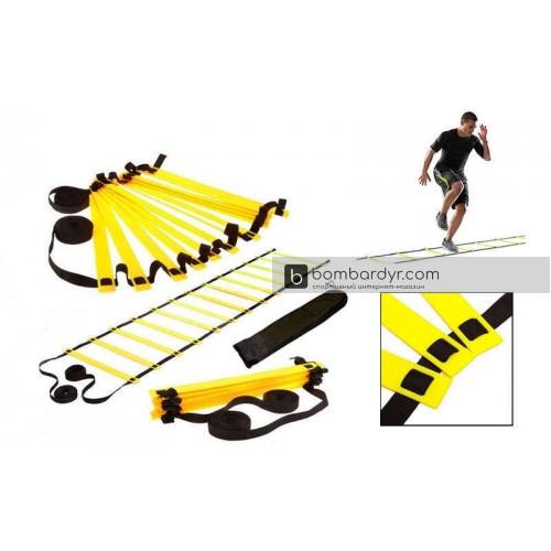 Координационная лестница для тренировки скорости 10м C-4607-Y
