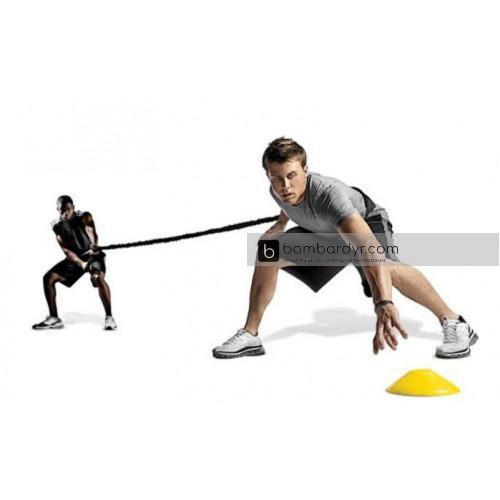 Поводок-амортизатор для силовых тренировок FB-3018 Random Direction Running