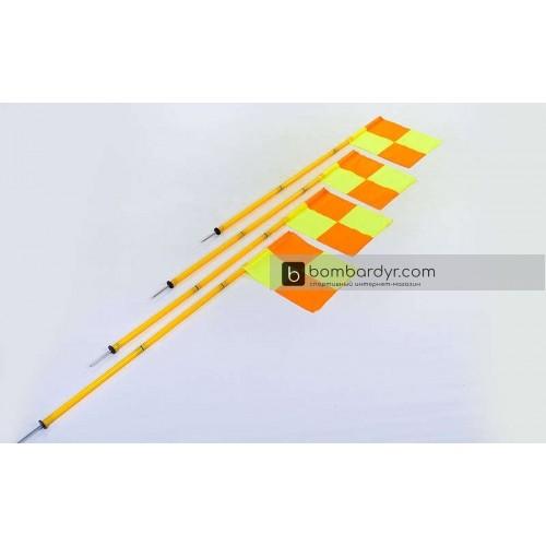 Флаги угловые складные С-4585