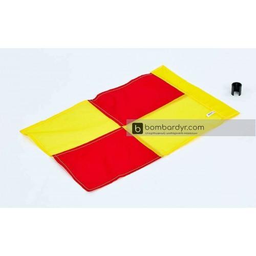 Флаг угловой (полотно) с клипсой C-4597