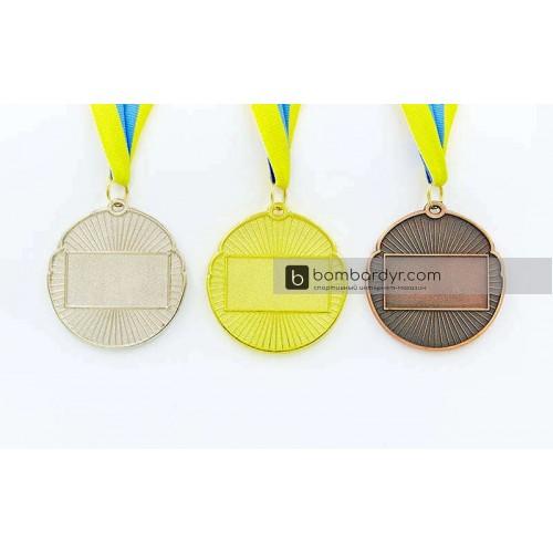 Заготовка медали спортивной с лентой RESULT C-4331-1