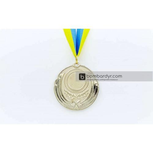 Заготовка медали спортивной с лентой RESULT C-4331-2