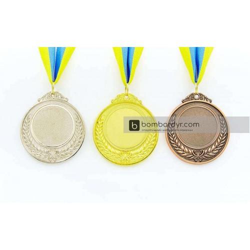 Заготовка медали спортивной с лентой HIT C-4332-1