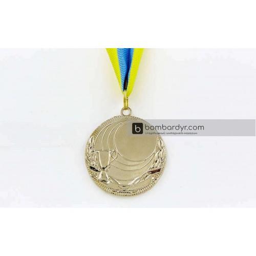 Заготовка медали спортивной с лентой PLUCK C-4844-2