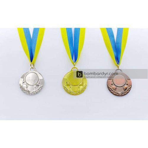 Заготовка медали спортивной с лентой AIM C-4846-2