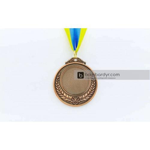 Заготовка медали спортивной с лентой HIT C-4332-3