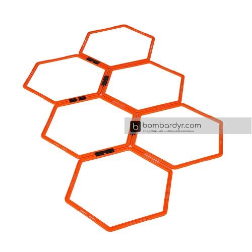 Кольца шестиугольные, тренировочные Yakimasport 100268
