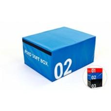 Бокс плиометрический Zelart SOFT PLYOMETRIC BOXES мягкий FI-5334-2
