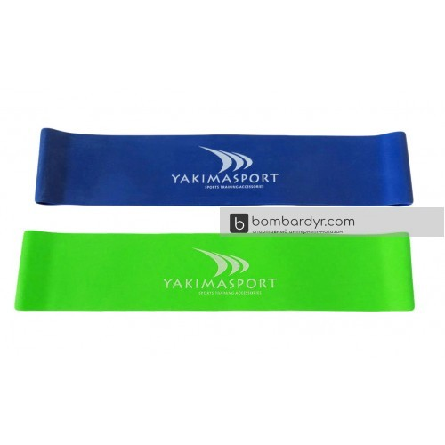 Эспандер Yakimasport Mini Bands для ног 2 шт, 100249-100250