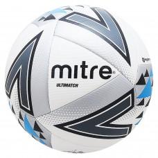 Футбольный мяч Mitre Ultimatch Football 5, 5-BB1117WIB