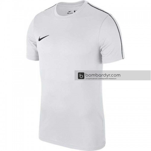 Тренировочная футболка Nike Dry Park 18 белая, AA2046-100