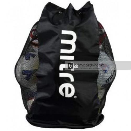 Сумка(сетка) для мячей Mitre Jumbo Ball Sack 20 Black, H8004BA1