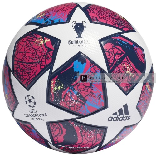 Футбольный мяч Adidas Finale Istanbul League Match Ball Replica, FH7340