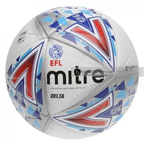 Футбольный мяч Mitre Delta Hyperseam FIFA EFL, 5-BB1979WHU
