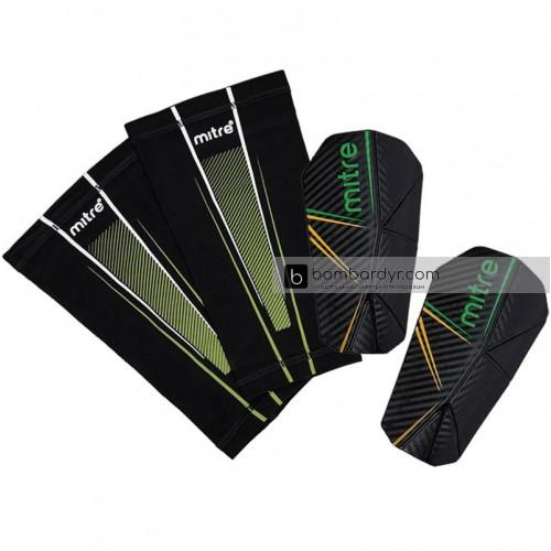 Щитки футбольные Mitre Delta Slip Pro, 5-S80003BGY