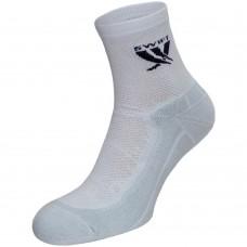 Носки спортивные Swift средние, белые 594-01-43