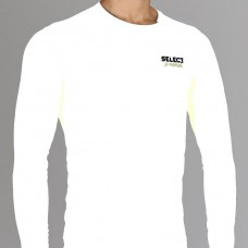 Термобельё SELECT Compression T-Shirt with long sleeves 6901 белый 6901-01
