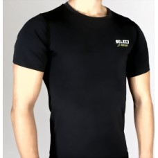 Термобельё SELECT Compression T-Shirt with short sleeves 6900 черный 6900-02