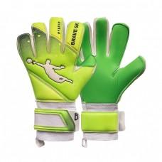 Перчатки вратарские BRAVE GK EXTREME GREEN/LEMON 00030508