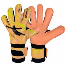 Перчатки вратарские BRAVE GK UNIQUE ORANGE 00070604