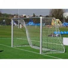 Сетка Yakimasport для футбольных ворот 5м х 2м 2 мм белая 100104