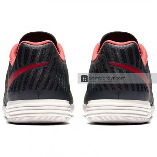 Футзалки Nike LunarGato II (черные) 580456-080