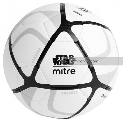 Футбольный мяч Mitre Star Wars™ Stormtrooper Football, 5-BB0002WA1
