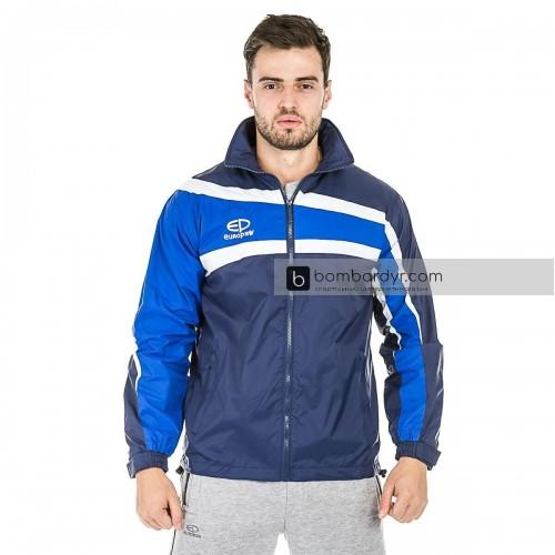 Куртка ветровочная 13 темно сине - синяя EUROPAW