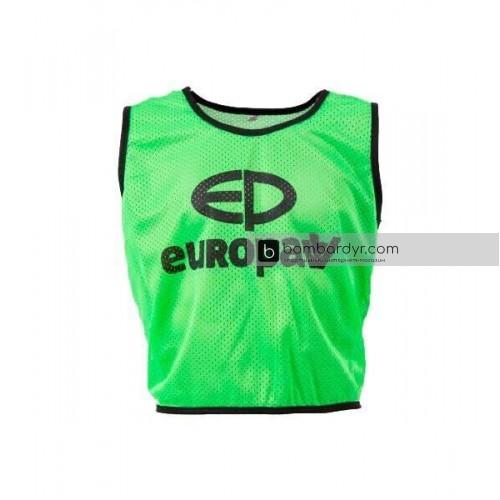 Манишка Europaw logo 3\4 зеленая 446