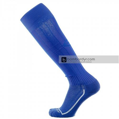 Гетры Europaw синие с трикотажным носком С-508