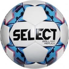 Мяч футбольный SELECT Brillant Replica бел/гол 0995855002