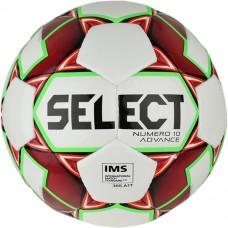 Мяч футбольный SELECT NUMERO 10 ADVANCE IMS кр/бел 3875046180