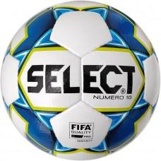 Мяч футбольный SELECT Numero 10 FIFA  бел/син 3675046002