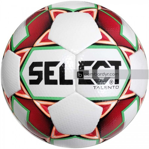 Мяч футбольный SELECT Talento бел/красн 0775846003