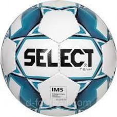 Мяч футбольный SELECT Team IMS бело/голубой 0865546002