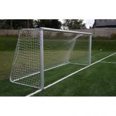 Сетка Yakimasport для футбольных ворот 5м х 2м, белая 4 мм 100107