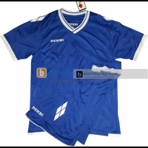 Футбольная форма для детей DERBI (синяя)