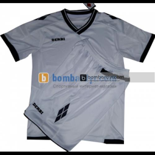 Футбольная форма для детей DERBI (белая)