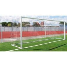 Сетка для футбольных ворот Yakimasport 7,33 X 2,44M, БЕЛАЯ 2MM 100109