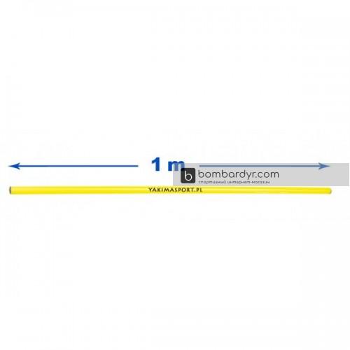 Палка гимнастическая (штанга) 1 м Yakimasport 100075