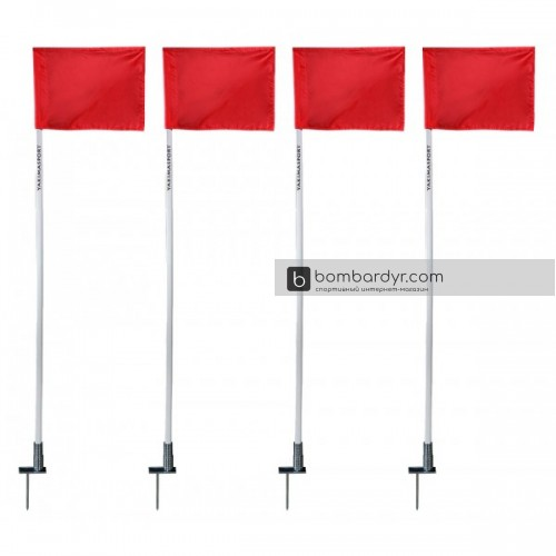 Флаги угловые (4 шт.) Yakimasport 100117